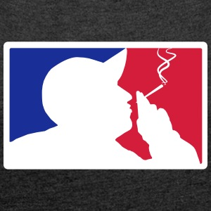 Major League Blazin' - Women's T-shirt with rolled up sleeves