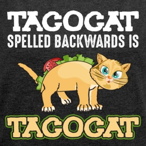 Tacocat - Women's T-shirt with rolled up sleeves