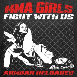 MMA Girls - Fightwear - Mix Martial Arts - BJJ - Women's T-shirt with rolled up sleeves