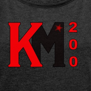 karl marx 200 - Women's T-shirt with rolled up sleeves