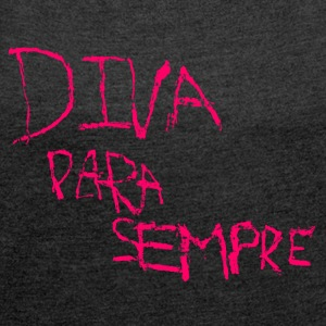 para semper - Women's T-shirt with rolled up sleeves
