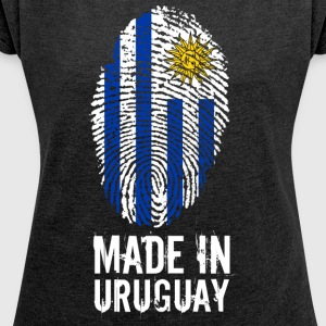 Made In Uruguay - Women's T-shirt with rolled up sleeves