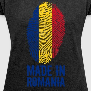 Made in Romania / Made in Romania România - Women's T-shirt with rolled up sleeves
