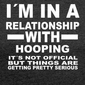 Relationship with HOOPING - Women's T-shirt with rolled up sleeves