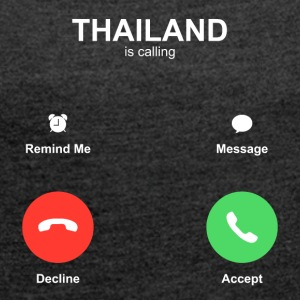 THAILAND is calling - Women's T-shirt with rolled up sleeves
