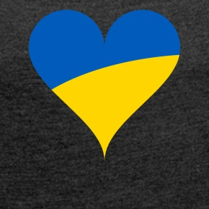 Ukraine - Women's T-shirt with rolled up sleeves