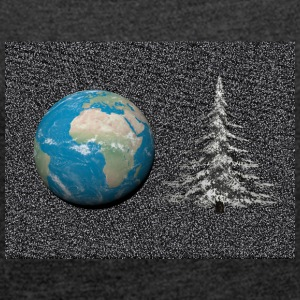world_christmas3 - Women's T-shirt with rolled up sleeves