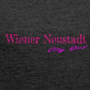 Wiener Neustadt - Women's T-shirt with rolled up sleeves