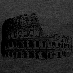 Colosseum - Women's T-shirt with rolled up sleeves