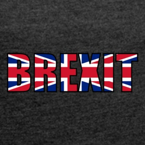 United Kingdom and Gibraltar European Union membership referendum - Women's T-shirt with rolled up sleeves