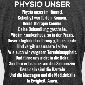 Physiotherapie/Physiotherapeut/Physiotherapeutin - Frauen T-Shirt mit gerollten Ärmeln