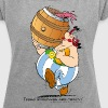 Asterix & Obelix - These Rugbymen - Women's T-shirt with rolled up sleeves