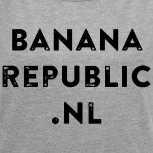 banana republic - Women's T-shirt with rolled up sleeves
