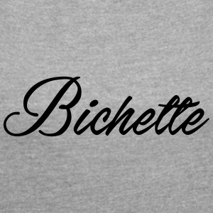 bichette - Women's T-shirt with rolled up sleeves