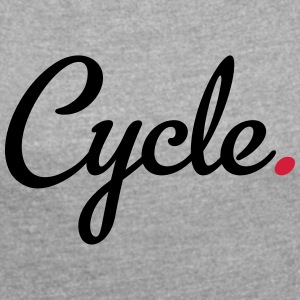 Cycle - Women's T-shirt with rolled up sleeves