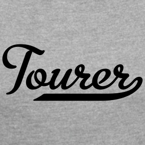 Tourer - Women's T-shirt with rolled up sleeves