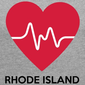 Heart Rhode Iceland - Women's T-shirt with rolled up sleeves