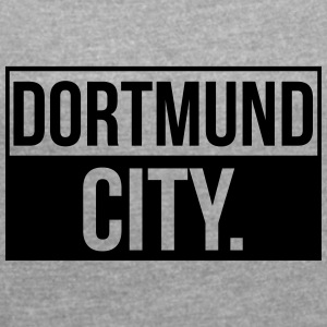 Dortmund City - Women's T-shirt with rolled up sleeves