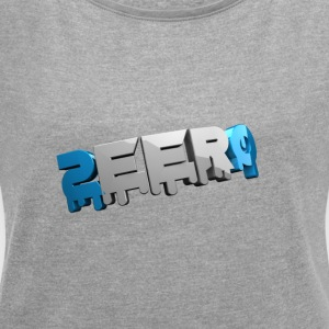 Zeero official T-shirt - Women's T-shirt with rolled up sleeves