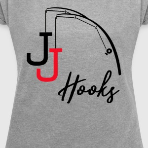 Poker JJ Hooks - Women's T-shirt with rolled up sleeves