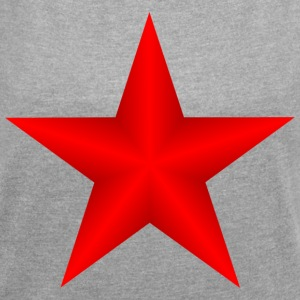 IZARRA / STAR - Women's T-shirt with rolled up sleeves