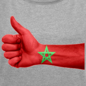 MOROCCO / MOROCCO / ISLAM / MUSLIM - Women's T-shirt with rolled up sleeves