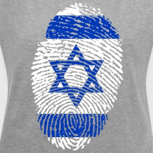ISRAEL 4 EVER COLLECTION - Women's T-shirt with rolled up sleeves