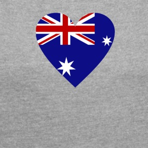 australia - Women's T-shirt with rolled up sleeves
