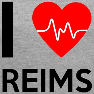 I Love Reims - I Love Reims - Women's T-shirt with rolled up sleeves