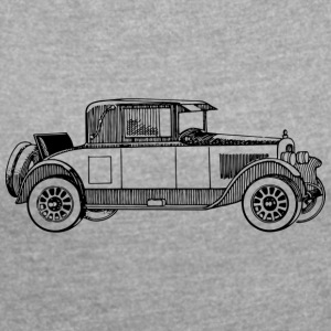 automobile - Women's T-shirt with rolled up sleeves