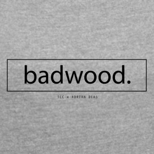 Badwood TCC Spring Collection - T-skjorte med rulleermer for kvinner