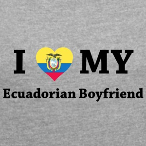 ecuador live - Women's T-shirt with rolled up sleeves
