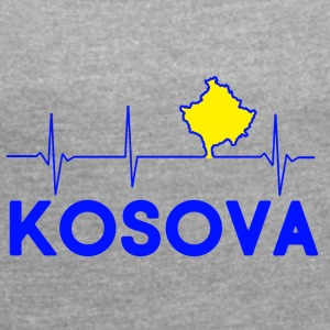 KOSOVA - Women's T-shirt with rolled up sleeves