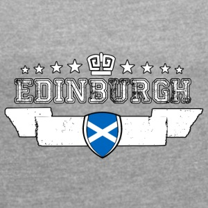 Edinburgh - Women's T-shirt with rolled up sleeves