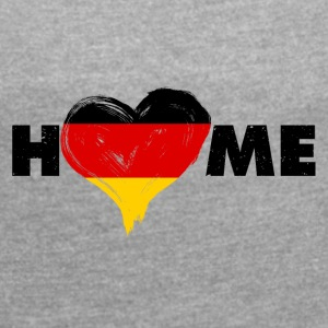 Germany - Women's T-shirt with rolled up sleeves