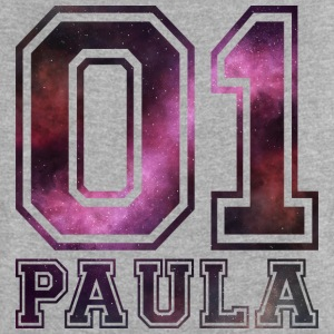 Paula name - Women's T-shirt with rolled up sleeves