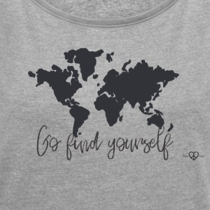World Map - Go find yourself Black