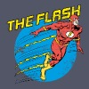 The Flash Comic Männer T-Shirt - Frauen T-Shirt mit gerollten Ärmeln