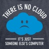 There Is No Cloud... - Women's T-shirt with rolled up sleeves