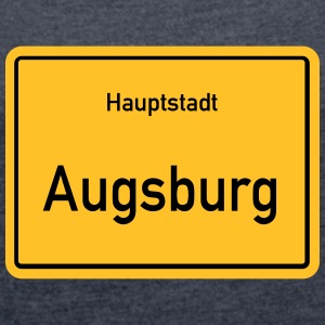 capital Augsburg - Women's T-shirt with rolled up sleeves