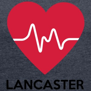 heart Lancaster - Women's T-shirt with rolled up sleeves