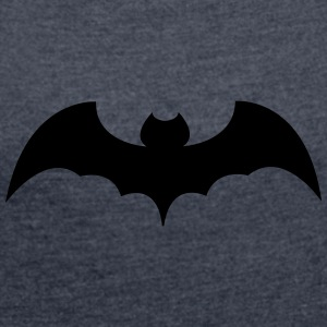 bat - Women's T-shirt with rolled up sleeves