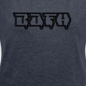 BOFH - Ascii Art - Retro Look - Women's T-shirt with rolled up sleeves