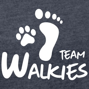 team walkies dog paw footprint