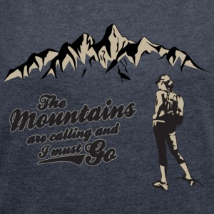 HIKING | MRS - Women's T-shirt with rolled up sleeves