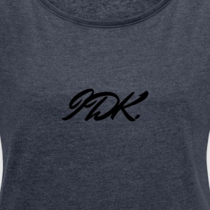 IDK - Women's T-shirt with rolled up sleeves