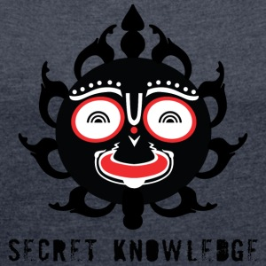 Secret knowledge - Women's T-shirt with rolled up sleeves