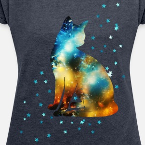 Space Pussy on the Milky Way, Galaxy, Cat, Star