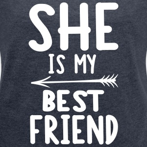 She is my best friend - right