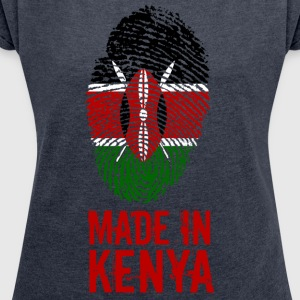 Made In Kenya / Kenya - Women's T-shirt with rolled up sleeves